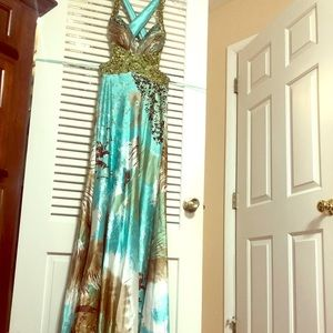 Green Jovani Prom dress Size 0